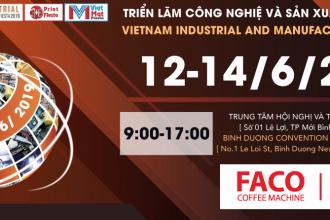[Faco - Delonghi] Triển lãm Công Nghiệp và Sản Xuất Việt Nam 2019